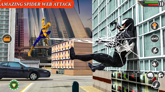 Amazing Spider Rope man hero Spider rope hero game Screenshot