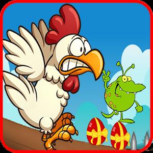 Angry chicken-Super run