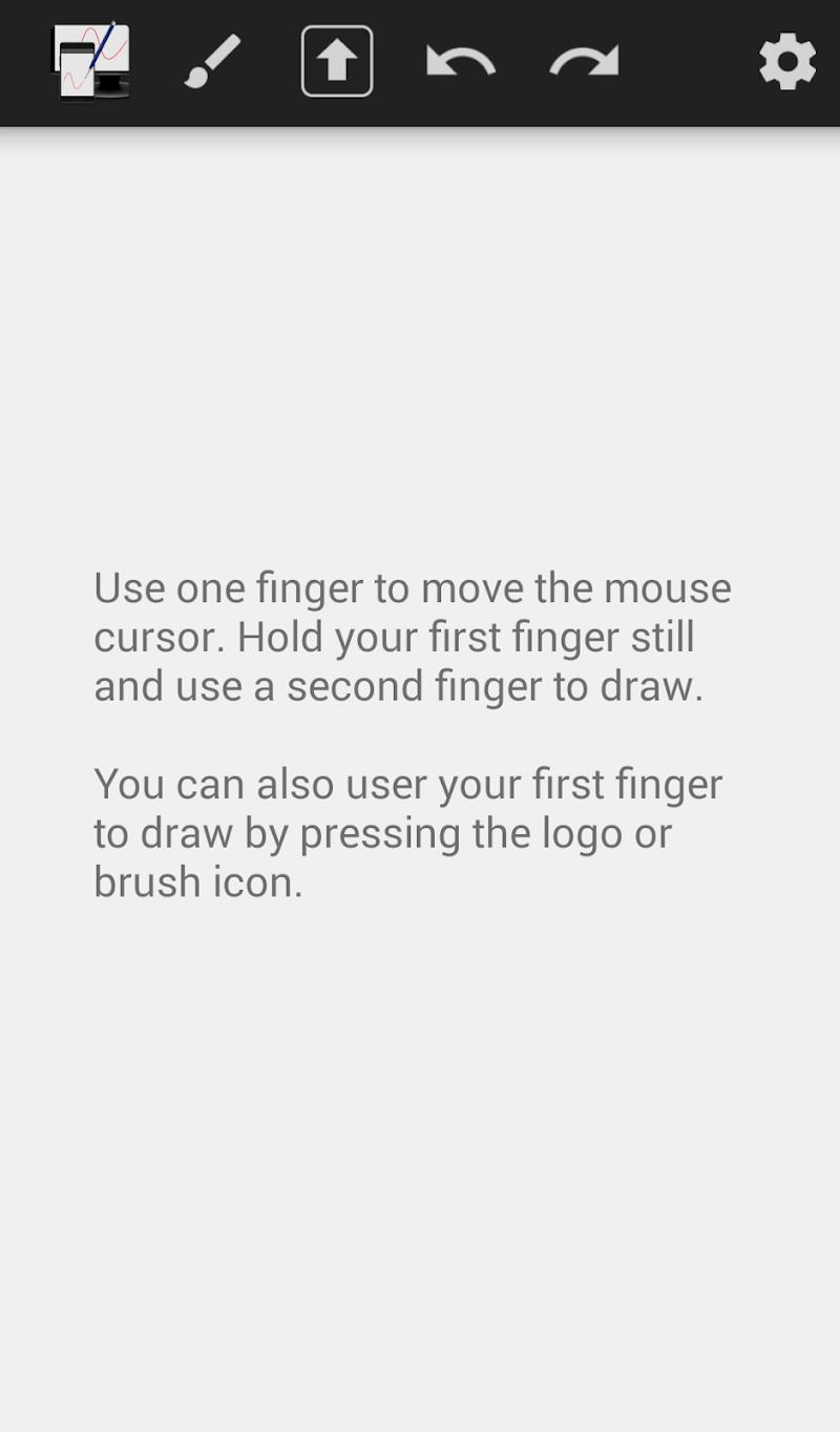 Скриншот WiFi Drawing Tablet