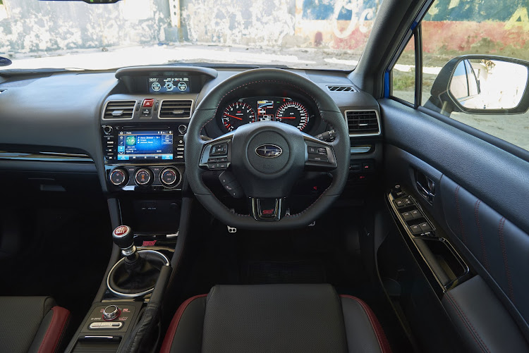 Bucket seats and sports steering wheel welcome the enthusiast driver. Picture: SUPPLIED