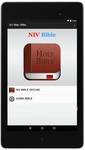NIV Bible Offline and Audio