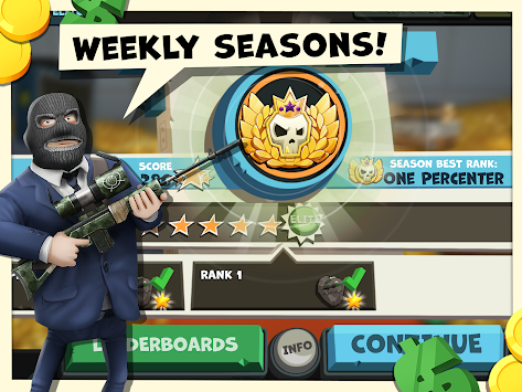 Snipers vs Thieves apk screenshot
