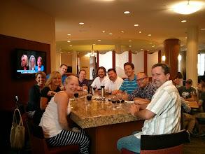 Photo: Before Celebration Dinner
