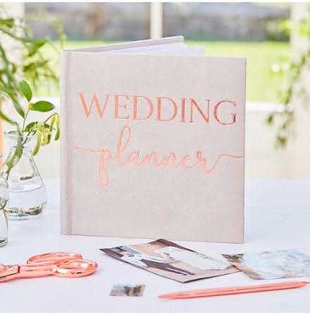 Planeringsbok bröllop - Botanical wedding