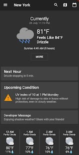 Shadow Weather: Fast. Minimal. Complete Forecasts. Screenshot