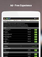 Moneycontrol Markets on Tablet screenshot thumbnail