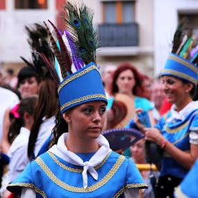 Folk dance by Joseph Escopin - People Street & Candids ( algemesi, folk dance, valencia, people, spain )