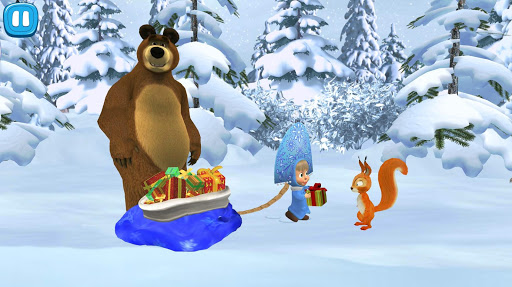 Masha and The Bear: Xmas shopping 1.0.4 screenshots 6