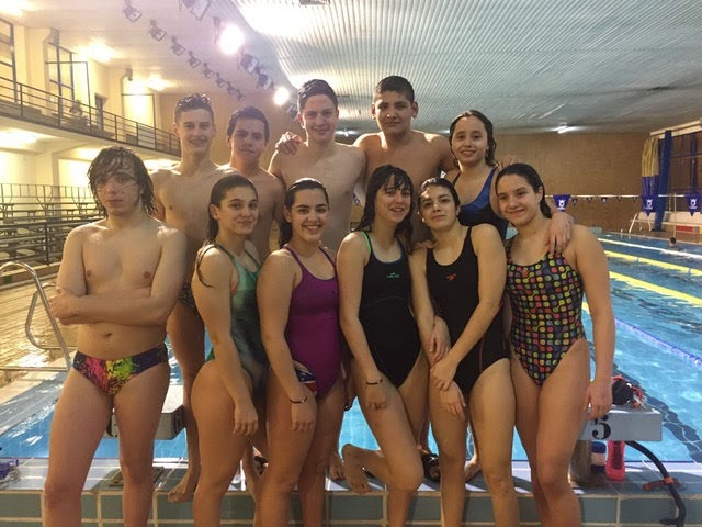 Once nadadores del CD Natación Ciudad de Algeciras acuden al infantil andaluz