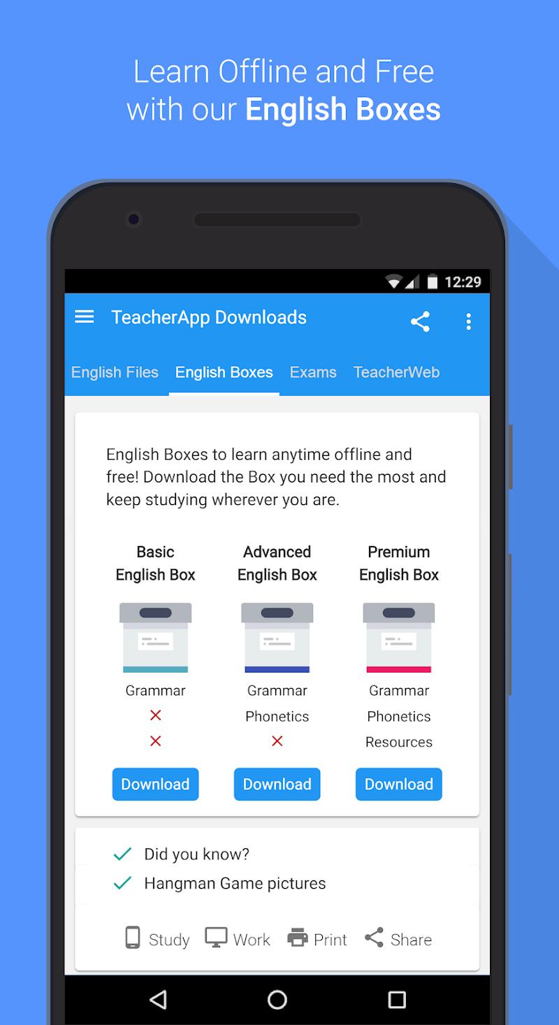 English Grammar & Phonetics Screenshot 9