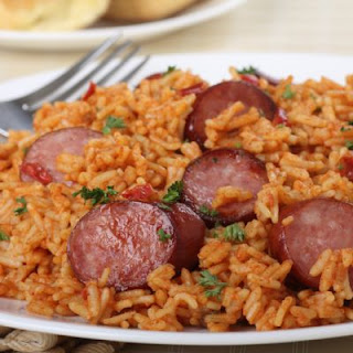 Kickin' Kielbasa And Rice
