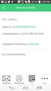 NEM Wallet- screenshot thumbnail