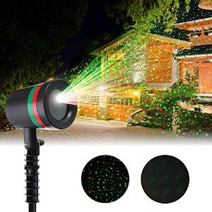 Brad artificial verde 180 cm + Proiector Laser Light pentru sarbatori