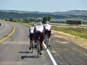 Photo: Day 23 Lusk WY to Hot Springs SD 93 miles, 2300' climbing: Now looking at the Black Hills
