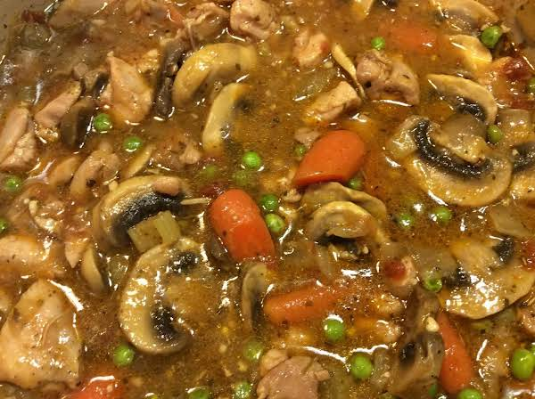 Easy Low Carb Chicken And Mushroom Stew Recipe