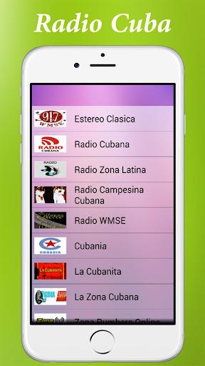 Radio Cuba :Estaciones en vivo