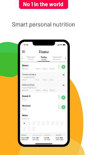 Fitatu Calorie Counter and Diet 2.59.0 screenshots 1