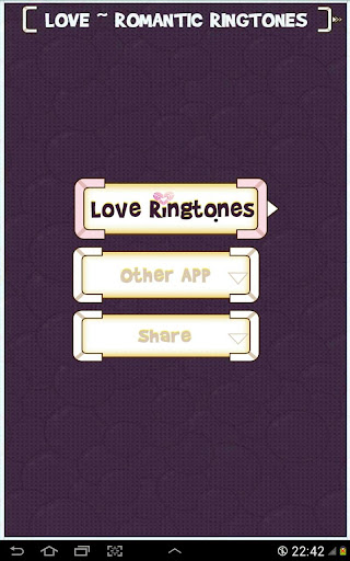 Love Romantic Ringtones