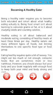 Healthy eating for great diet- screenshot thumbnail