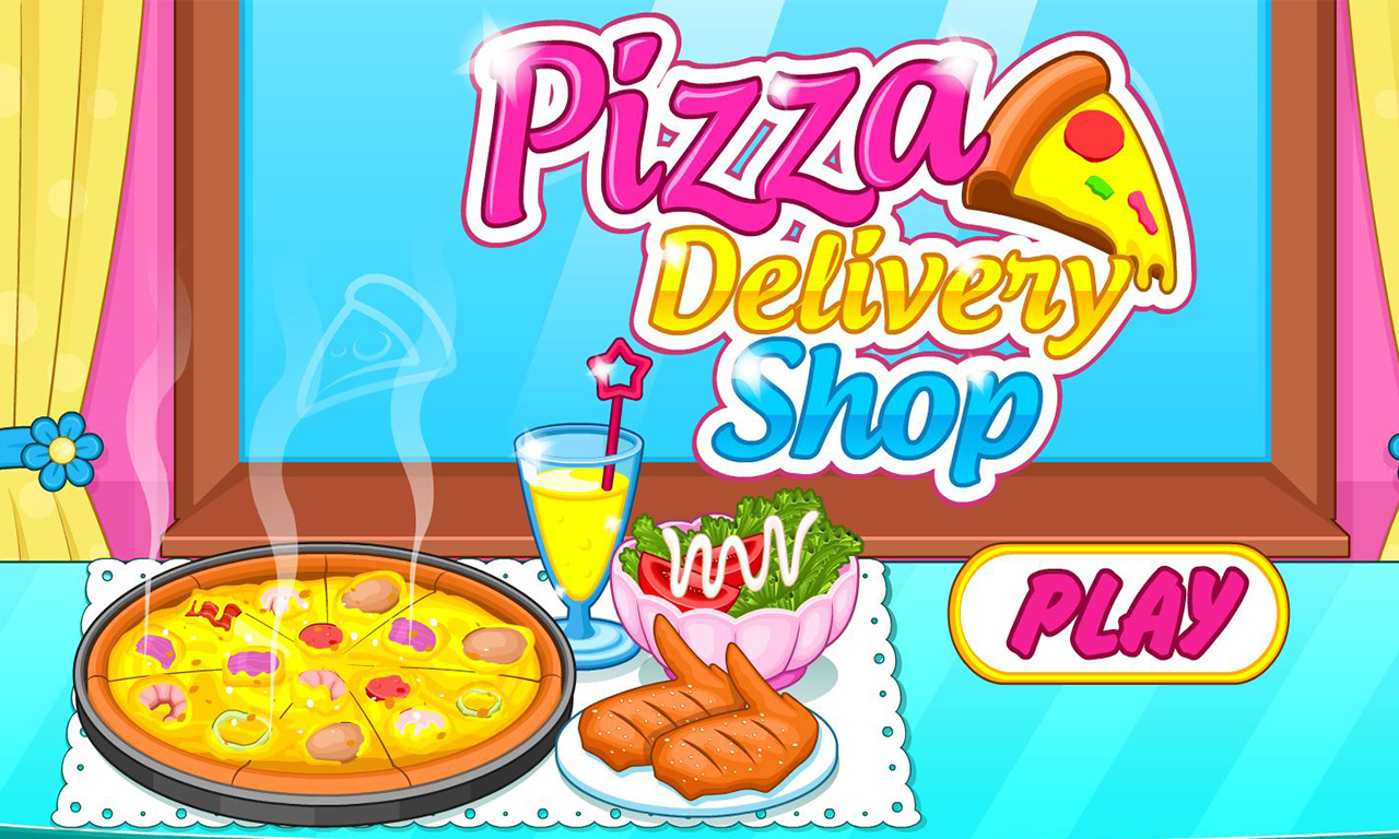 Pizza Delivery Shop- screenshot