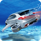Floating Underwater Car Free