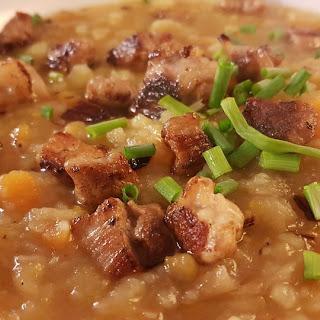Bolivian Peanut and Potato Soup.