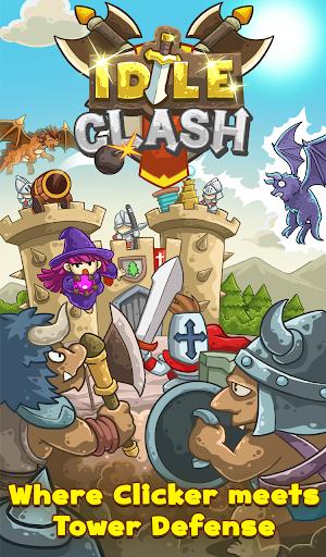 Idle Clash - Tap Frontier Defender 1.94 screenshots 1