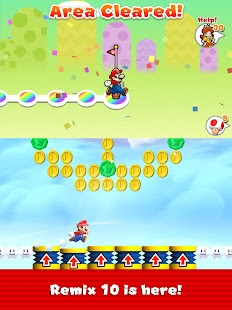 Super Mario Run- screenshot thumbnail