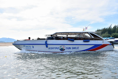 Travel from Ao Nang to Koh Phi Phi by speed boat