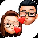 Love Sticker Memojis for WhatsApp - WAStickerApps icon
