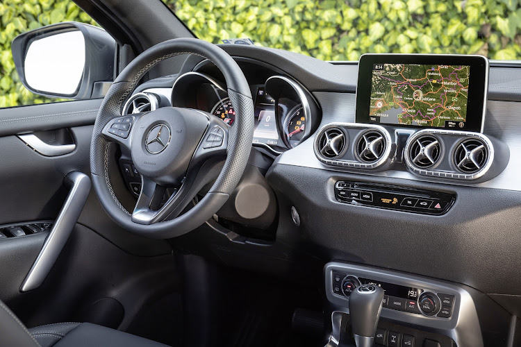 Cabin is classy and typical of Mercedes-Benz design tastes. Picture: SUPPLIED