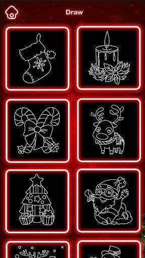 Draw Glow Christmas 2020 screenshots 5