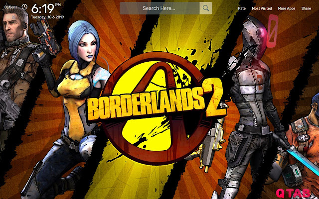 Borderlands 2 Wallpapers New Tab Theme