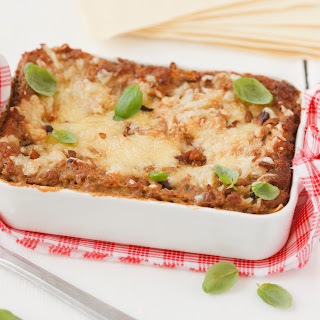 Eierschwammerl Lasagne