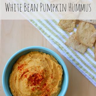 White Bean Pumpkin Hummus