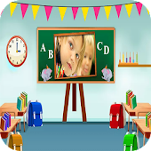 School Photo Frame
