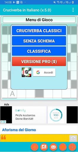 Italian Crossword Puzzles - Advanced Level 7.5 1