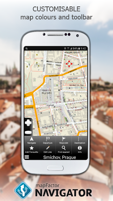 #4. MapFactor GPS Navigation Maps (Android)