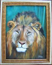 Photo: Lion. 18 x 24 Oil on Canvas. $399.00