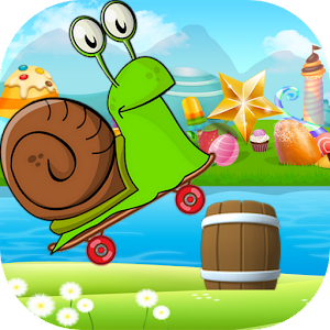 Happy Speed Snail Skateboard for PC and MAC