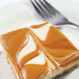 Peanut Butter Swirl Cheesecake Bars.