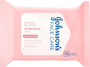 Johnson's Face Care Refreshing Face Wipes - 25 Count