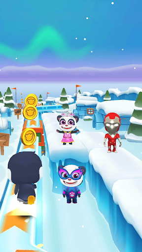 Code Triche Panda Panda Run APK MOD screenshots 3