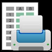 Print CSV Files