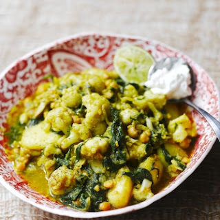 Chickpea Potato And Spinach Curry Recipes
