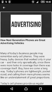 Mobile Advertising 101 - náhled