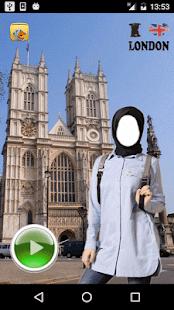 Hijab London Selfie - náhled