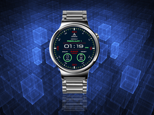 Digitalism Watch Face 1.0 screenshots 6
