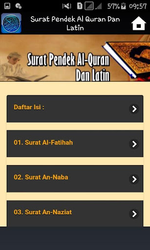 Surat Pendek Al Quran Dan Latin Apps On Google Play