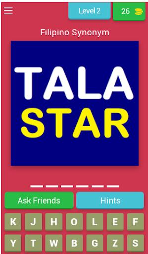 Filipino Synonym Game (Learn Filipino Words) 8.2.1z screenshots 2
